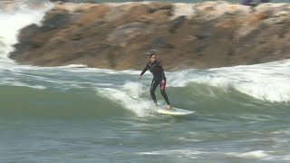 Women surfers in Morocco fight back prejudice to catch waves