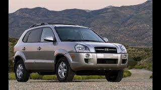 Замена передних тормозных дисков и колодок. Hyundai Tucson 2008 года.