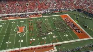 Marching Illini Halftime:  Band Day 2014 & Three In One