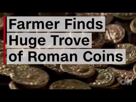 Farmer Finds Over 4,000 Ancient Roman Coins In Orchard