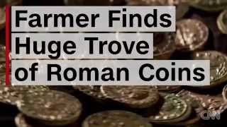 Baixar Farmer Finds Over 4,000 Ancient Roman Coins In Orchard