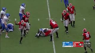 Middle Tennessee vs Georgia Week 3 Full Game Highlights