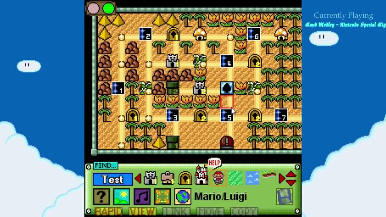 Mario builder world map showcase youtube mario builder world map showcase gumiabroncs Images