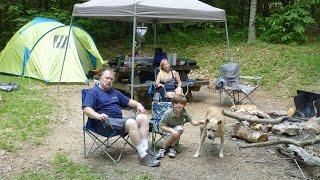 Virginia Highlands Camping Trip, Comers Rock, 2016!