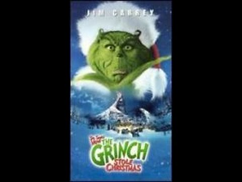 opening to how the grinch stole christmas 2001 vhs youtube - How The Grinch Stole Christmas Youtube