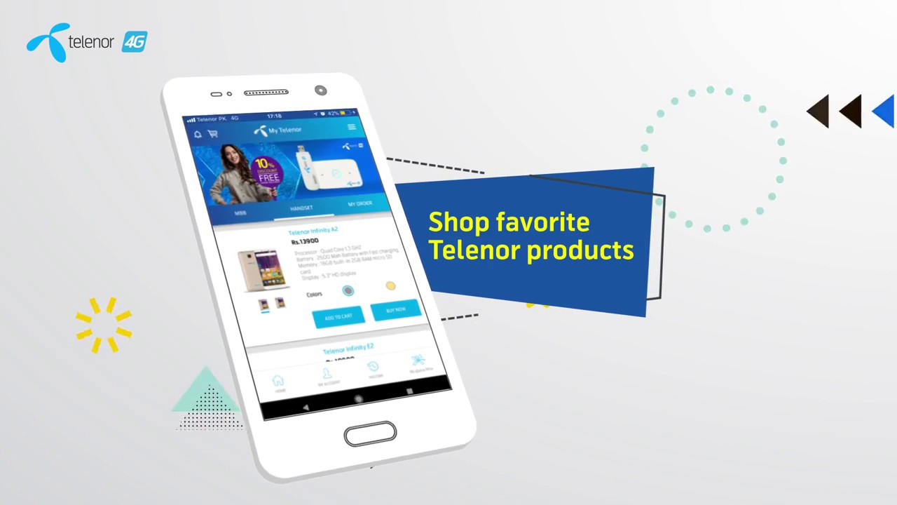 telenor account sign up