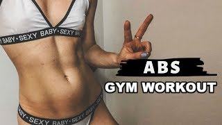 ABS WORKOUT na siłowni