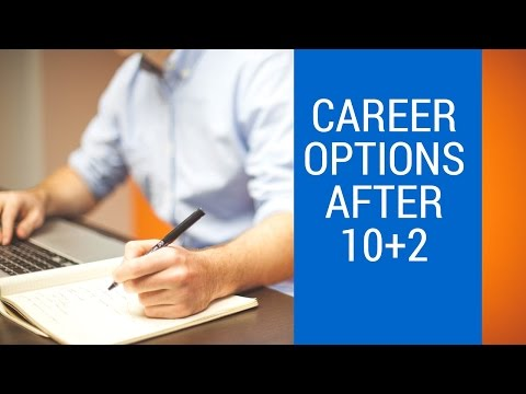 Career options after 10+2 (12th) for Arts, commerce and Science students