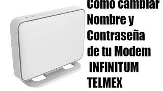 Como cambiar La Contraseña de tu Modem | INFINITUM 2014 TELMEX | Noe Avalos