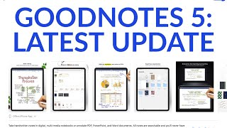 GOODNOTES 5: LATEST UPDATE (Cool feature added)