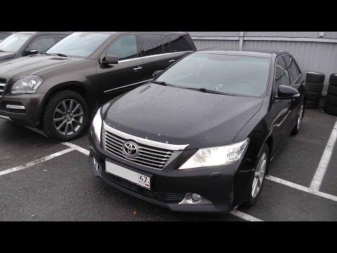 Выбираем б у авто Toyota Camry XV50 бюджет 1 1.1мр