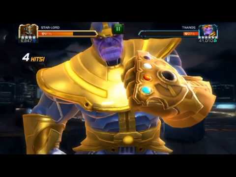 Marvel Contest Of Champions - Thanos Infinity All Special Attacks