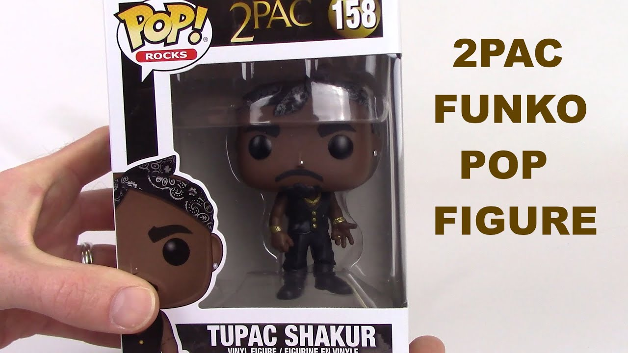 POP Rocks Tupac Shakur Vinyl Figure