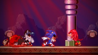 what happens in the duo survival of knuckles and eggman if only knuckles will survive? sonicexe soh