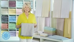 The Trick to Folding and Storing Sheets with Martha Stewart - Martha Stewart