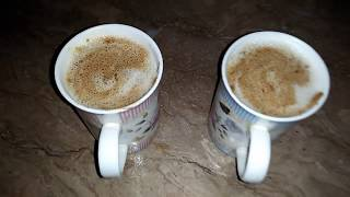 Cappuccino Resturant style at home without any better/coffee maker Recipe by Maria