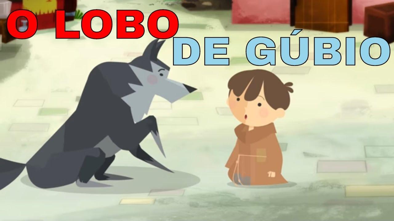 O Pequeno Francisco | Lobo de Gúbio - Desenho animado infantil - Arte piedosa