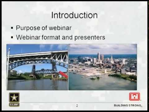 Cleveland Harbor - Open Lake Placement Informational Web Meeting