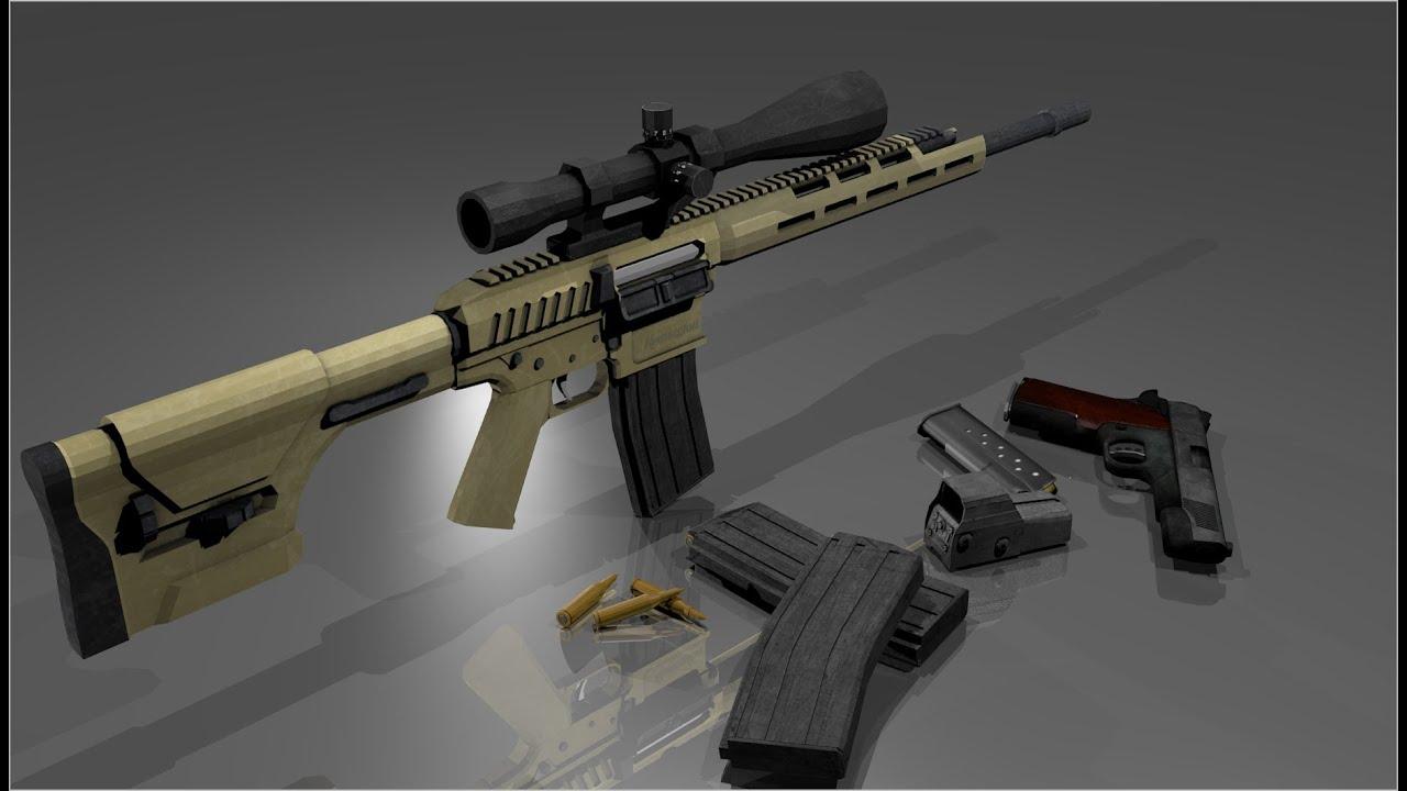 Sonic Wallpaper Hd 3d Remington R11 Rsass Speed Model Blender 3d Youtube
