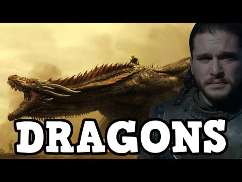 Game of Thrones Season 7 Jon Snow and The Dragons - Possible Trailer Spoiler