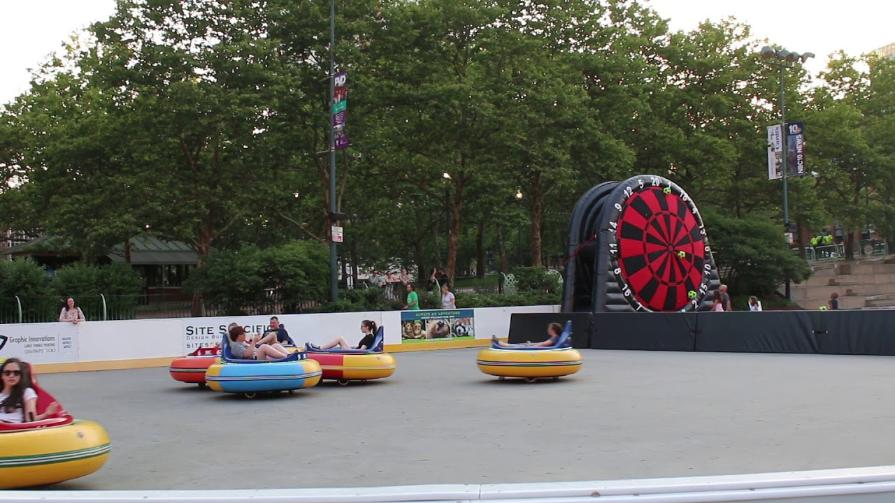 Alex And Ani City Center Providence Rink Bumper Cars Youtube