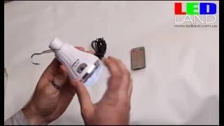 LED лампа KINGBLAZE GD-5016(LED лампа с аккумулятором, солнечной батареей и ДУ 20 светодиодов http://ledland.com.ua/p58650790-led-lampa-akkumulyatoromsolnechnoj.html., 2015-10-31T17:26:26.000Z)