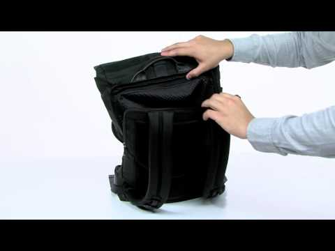 b5d22ad91 What's the Tumi Alpha Bravo Luke Roll-Top Backpack About - YouTube