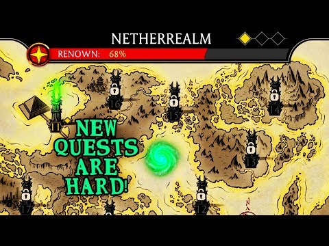 Mortal Kombat Mobile  Unlocking Netherrealm Quests  Why Are They So