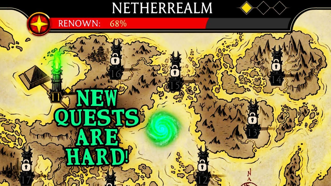 Mortal Kombat Mobile  Unlocking Netherrealm Quests  Why Are They So Hard???