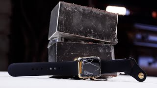 $10,000 Gold Apple Watch Edition Crushed By  Magnets
