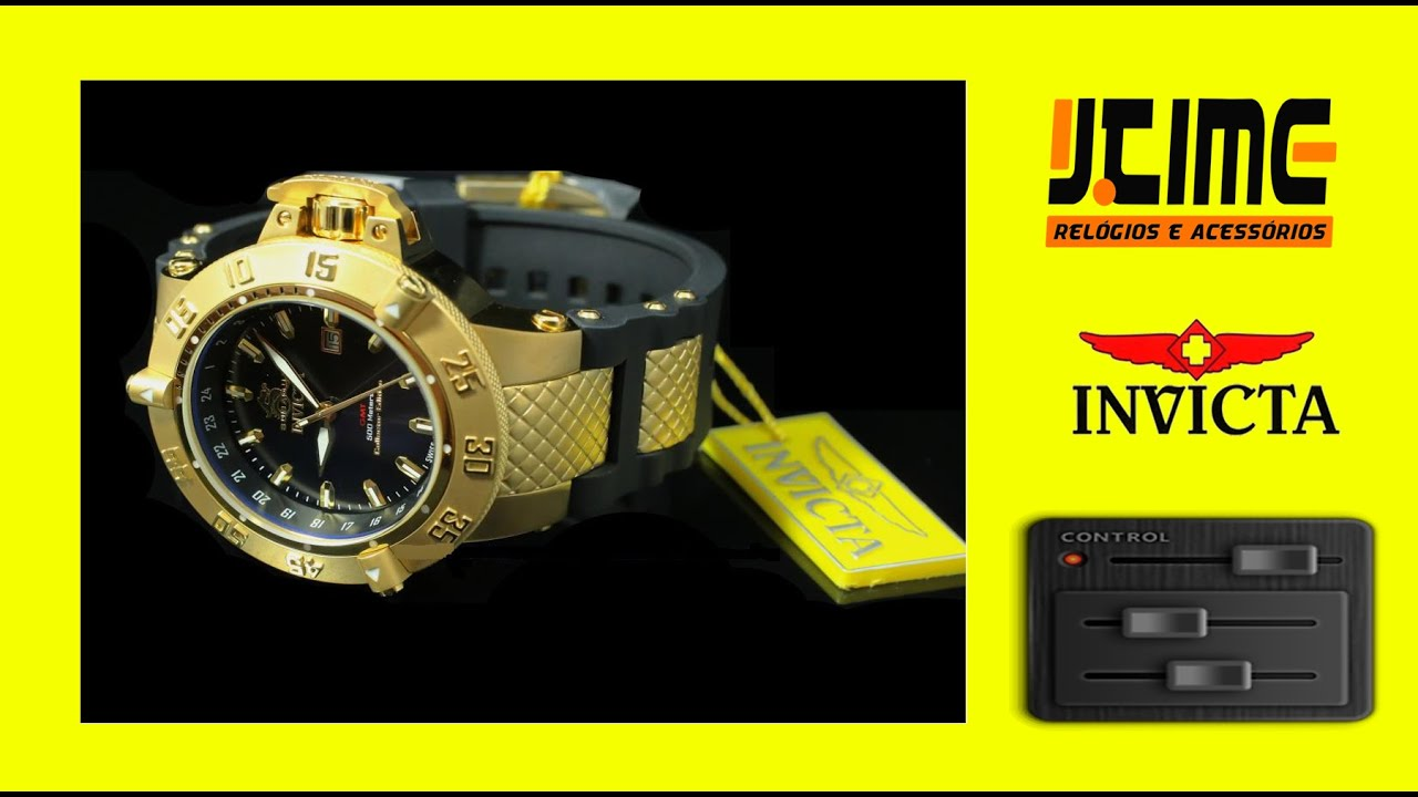 26af2f56755 Invicta 80424 Collector Edition - Jtime Relógios - YouTube