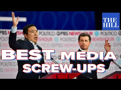 Our favorite media screw-ups w/ Katie Halper: Why won't the moderators let Andrew Yang talk?