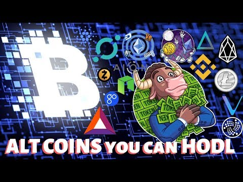 Altcoins you can HODL