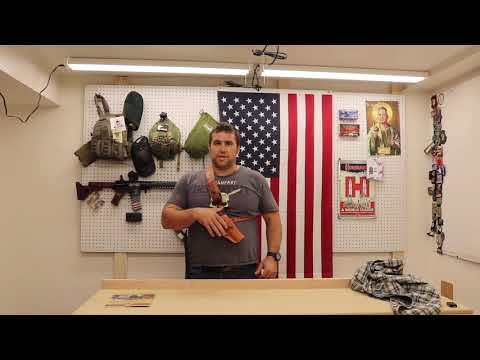 Get Yourself A Diamond D Chest Holster for Your Man-Sized Gun!