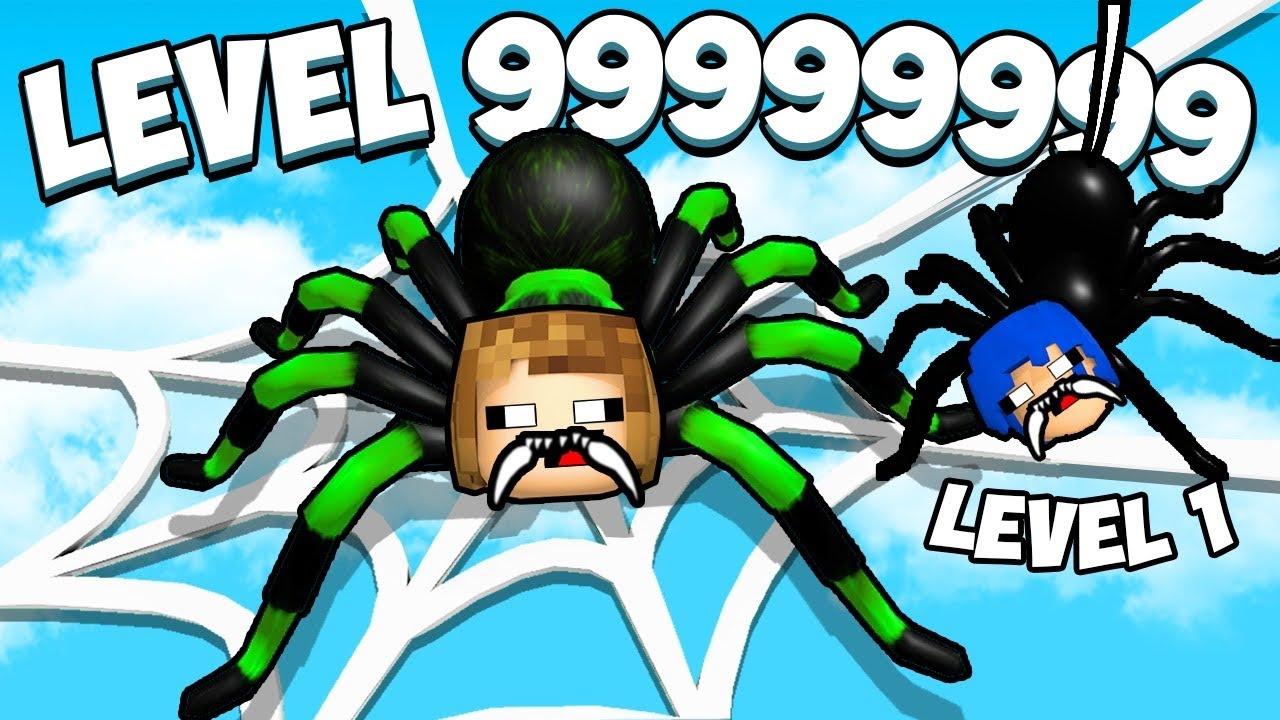 Download VIRAMOS ARANHAS GIGANTES   ROBLOX BE A SPIDER