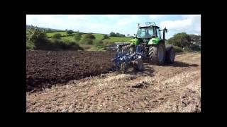 Rabe Plough and Deutz Fahr M650