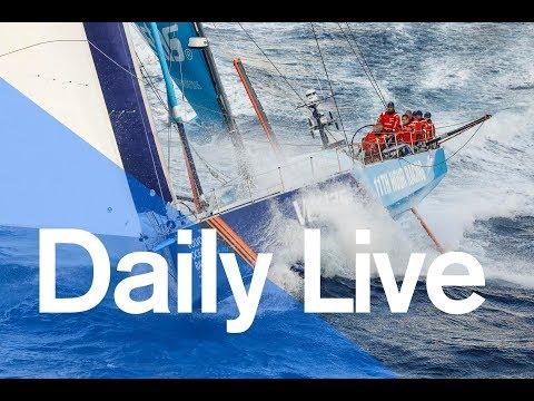 1300 UTC Daily Live – Tuesday 24 October | Volvo Ocean Race