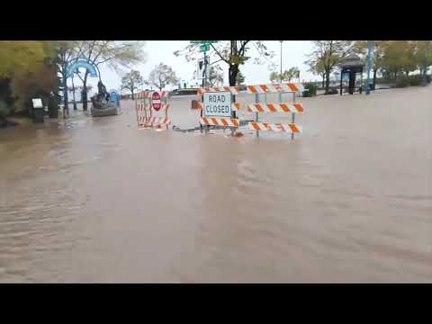 Flooding In Duluth, MN. October 10, 2018
