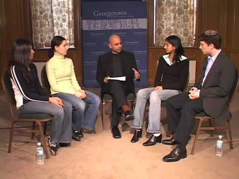 Interfaith dialog with students at Georgetown University