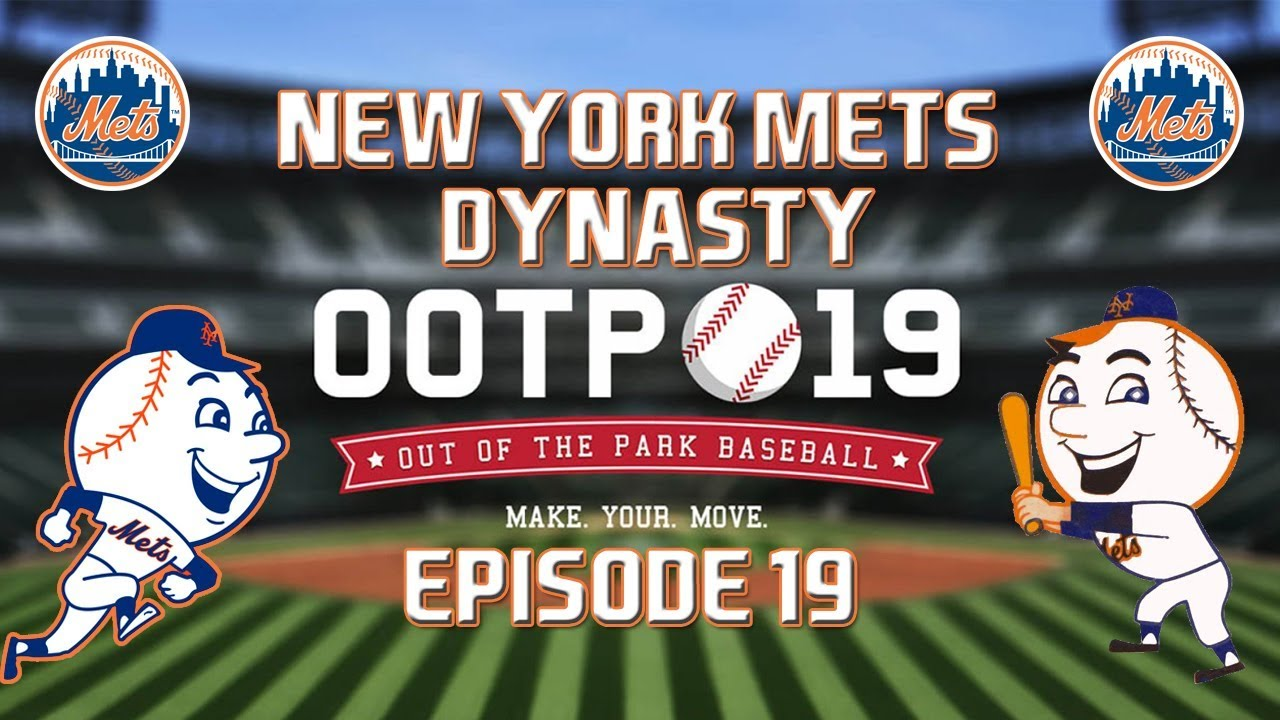 Out of the Park Baseball (OOTP) 19: New York Mets Dynasty - 2020 NLDS [EP19]