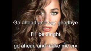 Leona Lewis - I Got You (with Lyrics).wmv