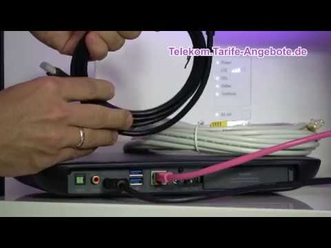 Inbetriebnahme / Installation Telekom Media Receiver 10 (MR10)
