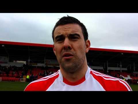 Cailean O'Boyle reacts to Dublin win