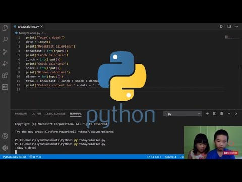 How to Code PYTHON: Number Type Conversion Challenge - Building a Calorie Counter
