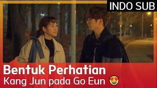 Bentuk Perhatian Seo Kang Jun pada Kim Go Eun 😍 #CheeseInTheTrap 🇮🇩SUB INDO🇮🇩
