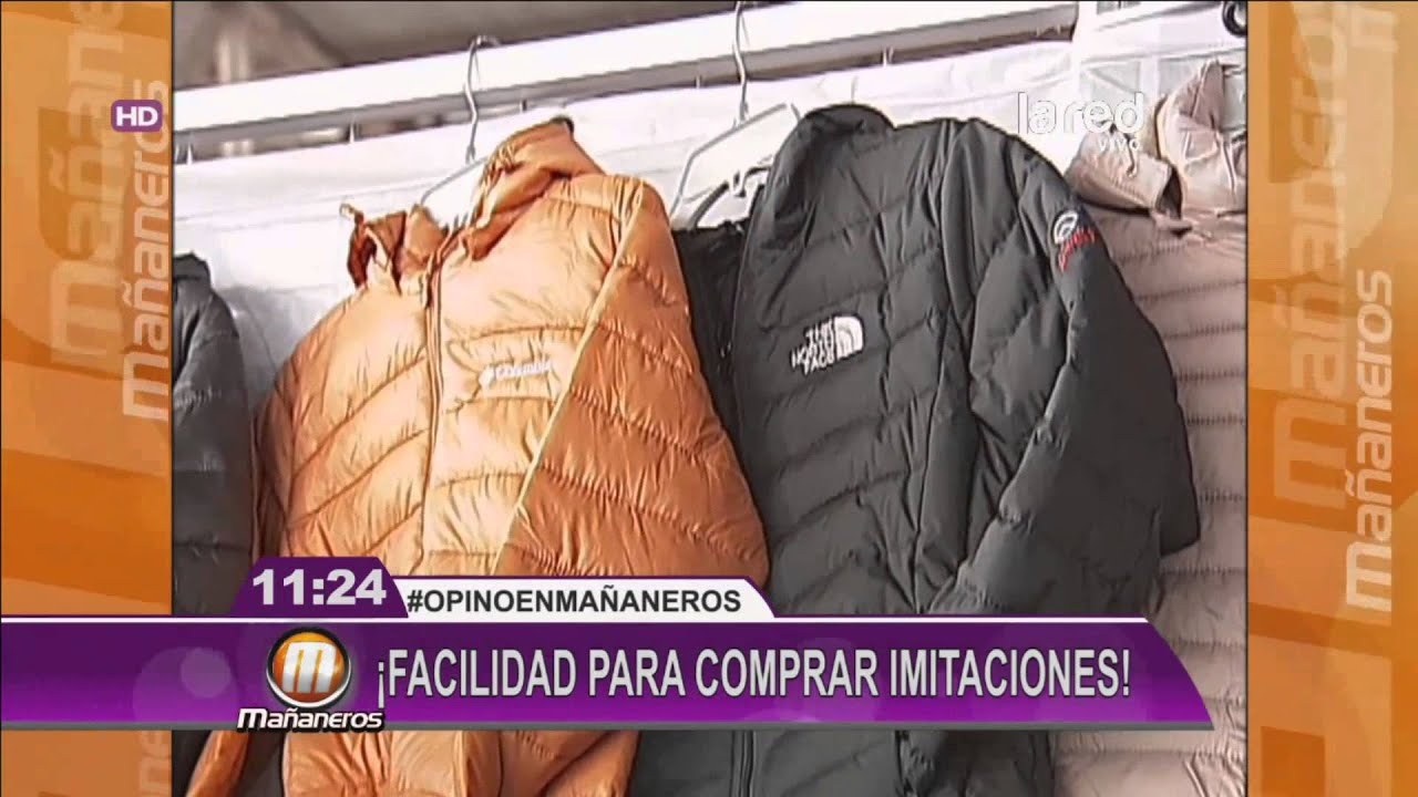 north face imitaciones chinas