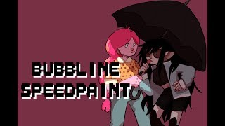Bubbline - Adventure Time Speedpaint