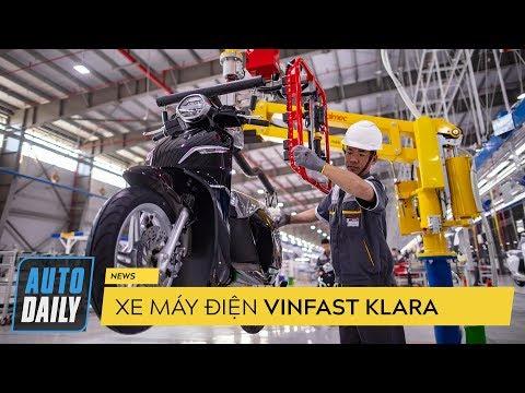 Đánh giá xe máy điện VinFast Klara và dây chuyền sản xuất