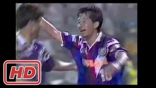 [サッカー JP] 木村和司34歳 Jリーグ初ゴールは芸術ループ