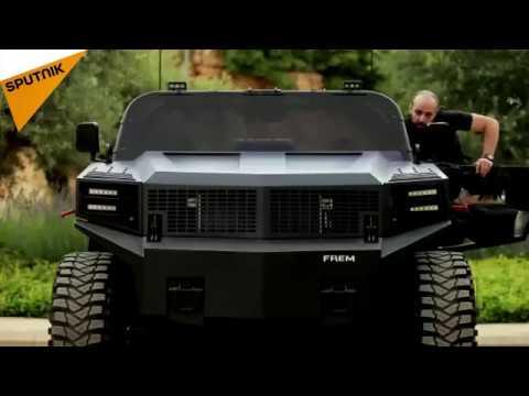 أول سيارة رباعية الدفع مصنعة في لبنان